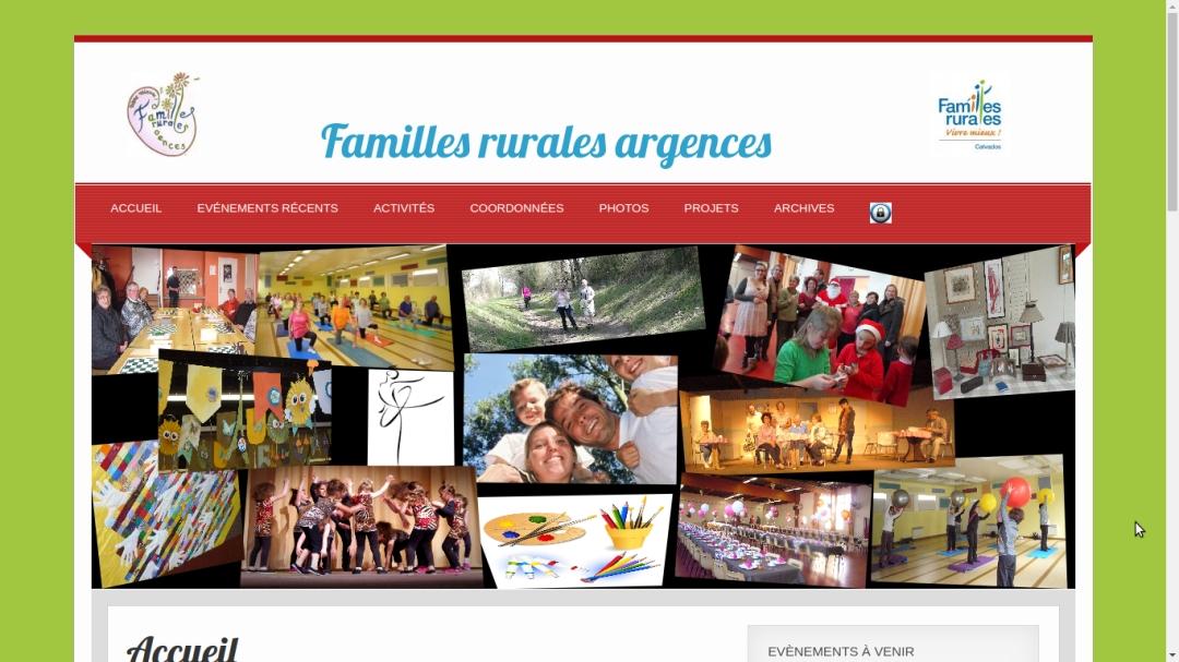 Familles rurales Argences